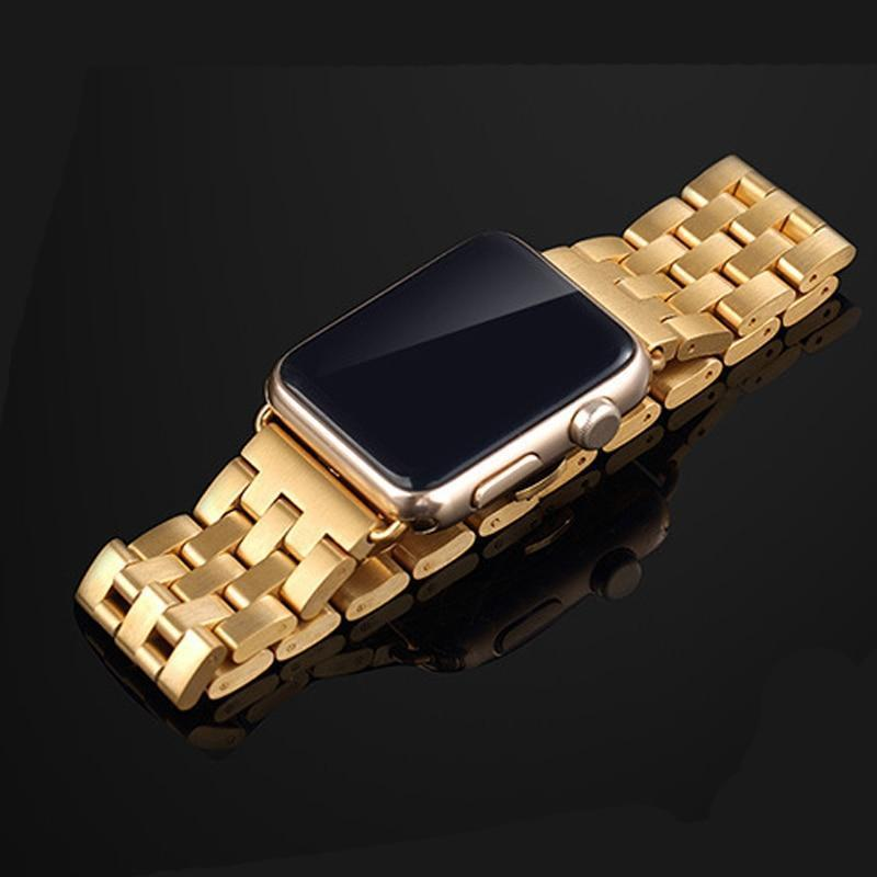 Watchbands Apple Watch Band Strap Stainless Steel Watchband, Rolex style Link Silver Rose Gold Black Metal Bracele iwatcht 42mm 38mm 44mm 40mm Series  5 4 3