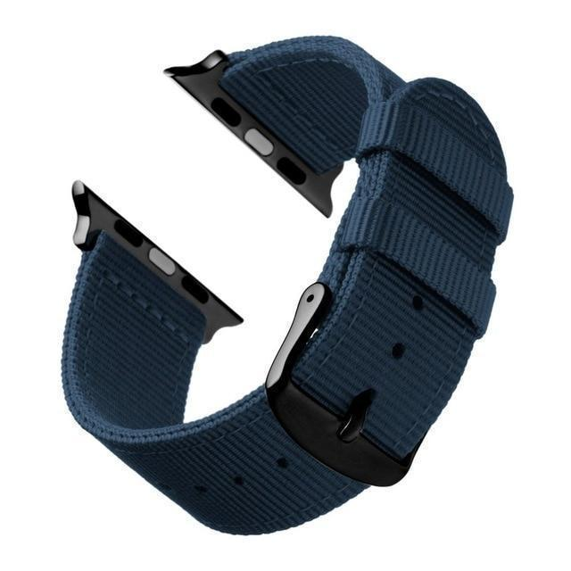 Watchbands Blue Black / 44mm Eastar Lightweight Breathable waterproof Nylon strap for apple watch 5 band 42mm 38mm for iWatch serise 4 3 2 1 watchband