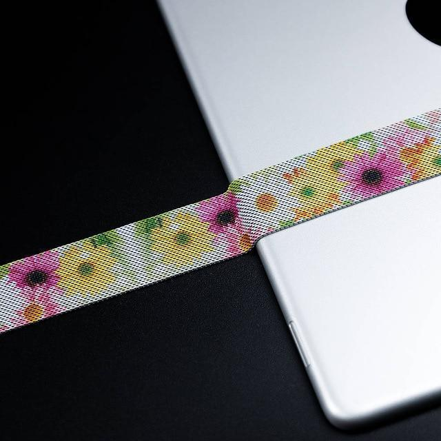 Watchbands China / Chrysanthemum / 38mm OR 40mm High Quality Milanese loop For Apple Watch band strap apple watch 5 band 44mm 40mm iwatch 4 3 42mm/38mm Better material Process