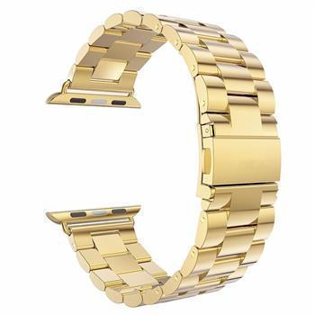 Watchbands gold / 38mm / 40mm watch band Apple Watch Series 5 4 3 2 Band, Stainless Steel Sports link strap iWatch  38mm, 40mm, 42mm, 44mm - US Fast Shipping