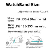 Watchbands High Quality Milanese loop For Apple Watch band strap apple watch 5 band 44mm 40mm iwatch 4 3 42mm/38mm Better material Process