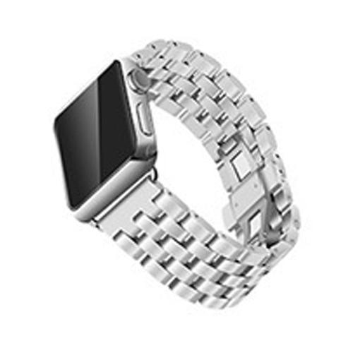 Watchbands Silver / 38mm/40mm Apple Watch Band Strap Stainless Steel Watchband, Rolex style Link Silver Rose Gold Black Metal Bracele iwatcht 42mm 38mm 44mm 40mm Series  5 4 3