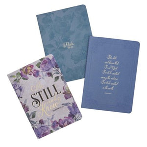 Be Still and Know Notebooks, Sets of 3