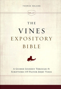 NKJV Vines Expository Bible--hardcover, cloth over board