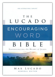 NIV Lucado Encouraging Word Bible, Comfort Print, Leathersoft, Brown, Indexed