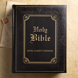 KJV Family Bible--Soft Leather-Look, Brown