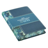 The Pocket Bible Devotional for Guys, Blue and Green