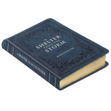 A Shelter from the Storm Devotional--Imitation Leather, Navy Blue -  Solly Ozrovech