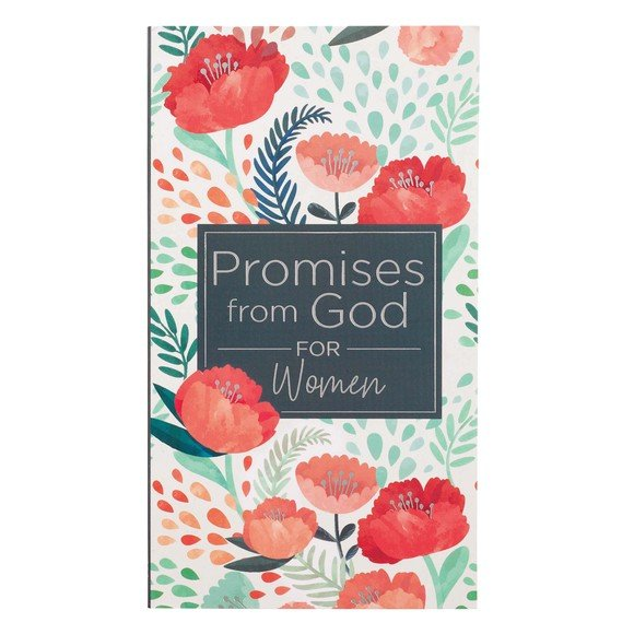 Promises from God for Women in Navy and Pink - Paperback