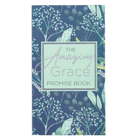 The Amazing Grace Promise Book in Green and Blue Paperback