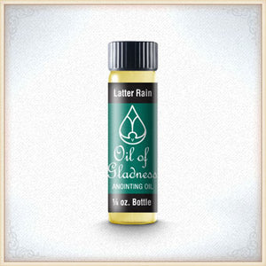 Latter Rain 1/4oz. Anointing Oil