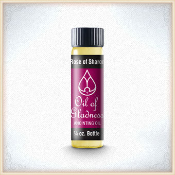 Rose of Sharon 1/4 OZ. Anointing Oil