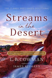 Streams in the Desert: 366 Daily Devotional Readings Paperback