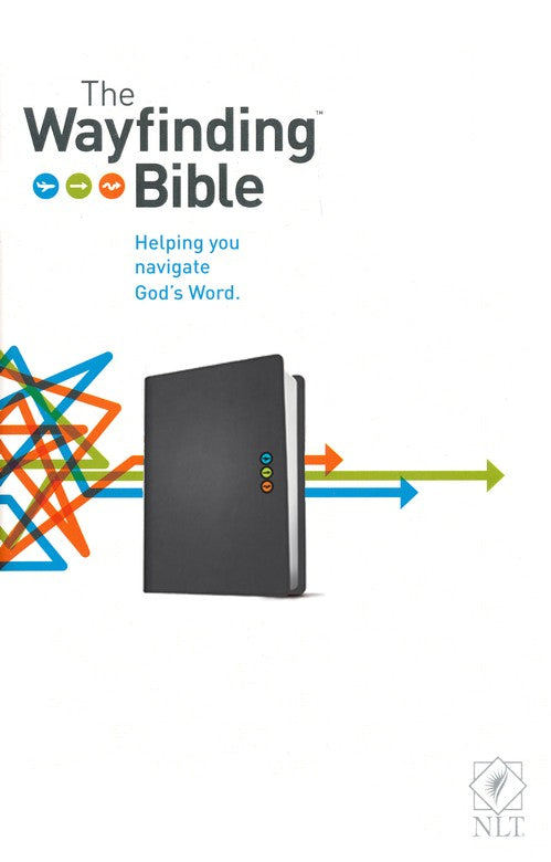 The NLT Wayfinding Bible, Black LeatherLike