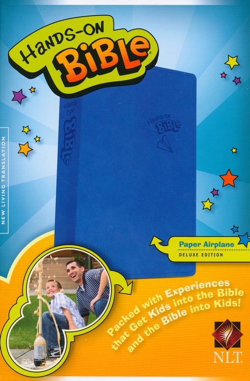 NLT Hands-On Bible for Boys, Updated Edition
