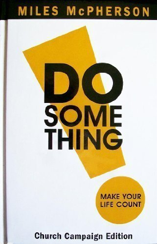 Do Something Church Campaign Edition - Miles McPherson