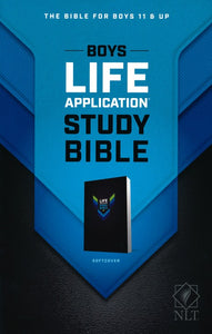 NLT Boys Life Application Study Bible, Softcover