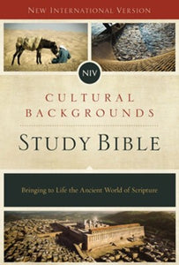 NIV Cultural Backgrounds Study Bible, Hardcover