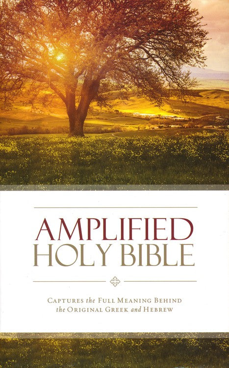 Amplified Holy Bible, hardcover