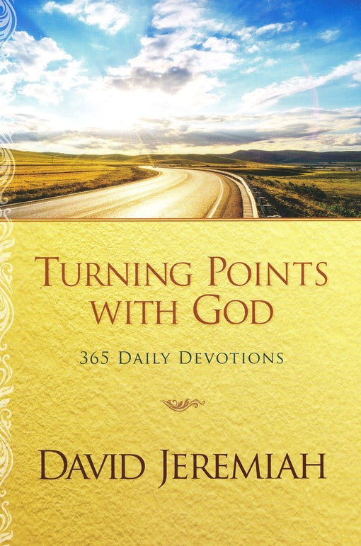 Turning Points with God: 365 Daily Devotions Paperback - David Jeremiah