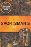 CSB Sportsman's Compact Large-Print Bible--soft leather-look, mothwing camouflage