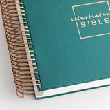 CSB Illustrating Bible--faux-leather, green