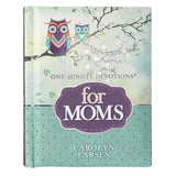 One-Minute Devotions for Moms Hardcover – Carolyn Larsen