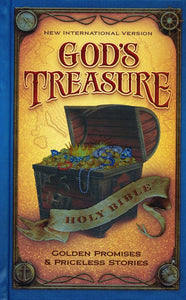 NIV God's Treasure Holy Bible, Hardcover