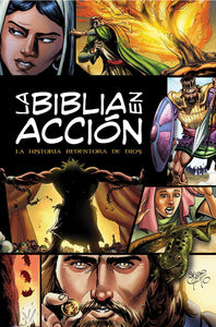 La Biblia en acción: The Action Bible-Spanish Edition (Action Bible Series) (Spanish) Hardcover – Sergio Cariello