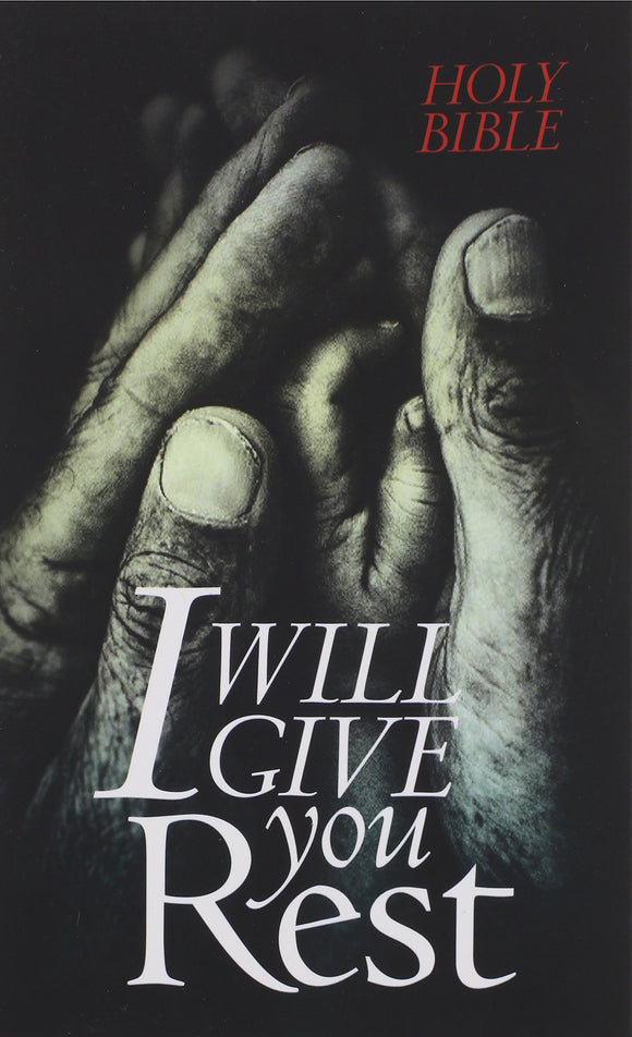 I Will Give You Rest NLT (Softcover)