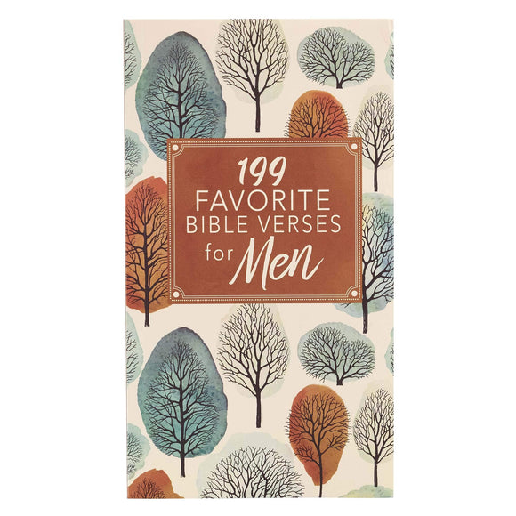 199 Favorite Bible Verses for Men Paperback  by Christian Art Gifts