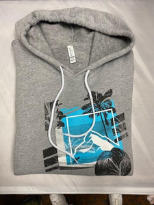 Rock Pullover Hoodie Gray