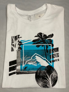 Rock T- Shirt White