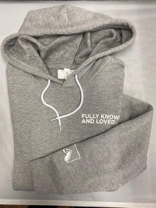 Rock Church Fully Known And Loved Heather Gray Sweatshirt S - 2XL