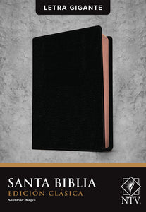 NTV Santa Biblia, Edicion LeatherLike Black, NTV Holy Bible, Classic Edition--soft leather-look, black