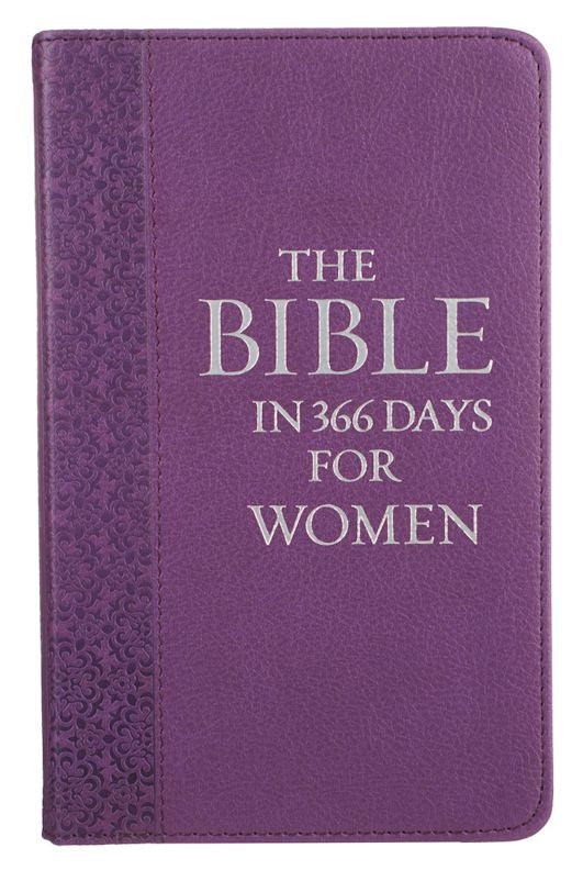 The Bible in 366 Days For Women, Purple Imitation Leather