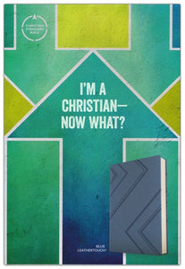 CSB I'm a Christian―Now What? Bible for Kids, Blue LeatherTouch