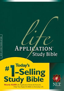 NLT Life Application Study Bible, Second Edition (Red Letter, Hardcover)