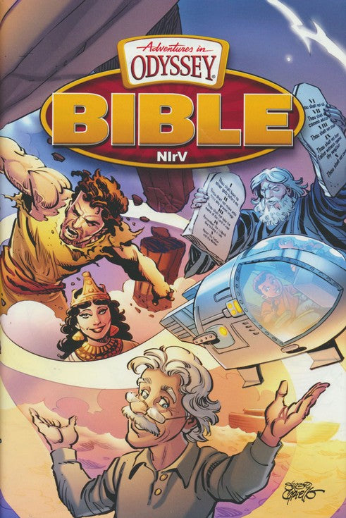 NIrV Adventures in Odyssey Bible (Hardcover)  Sergio Cariello