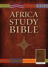 Africa Study Bible - Tan LeatherLike