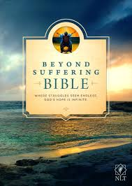 NLT Beyond Suffering Bible, Hardcover