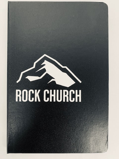Rock Church Notebook - Black