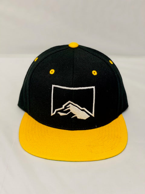 Rock Church Baseball Cap Snapback Black/Gold