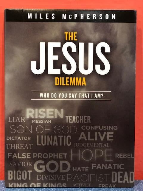 The Jesus Dilema, Who Do you Say I Am? DVD Series - Miles McPherson