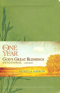 The One Year God's Great Blessings Devotional - Patricia Raybon  (Author)