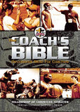 The Coach's Bible: Holman Christian Standard Bible Black Leathertouch: Fellowship of Christian Athletes Coach's Devotional Bible, Daily Game Plans for Coaches