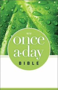 NIV, Once-A-Day Bible, Paperback