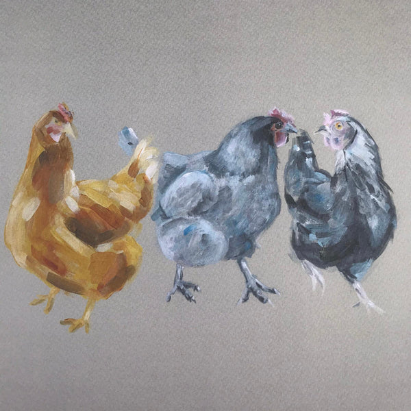 Chatty chickens