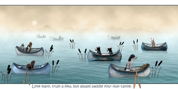 Always Paddle Your Own Canoe