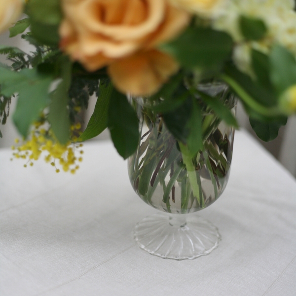 Medium Footed Vase